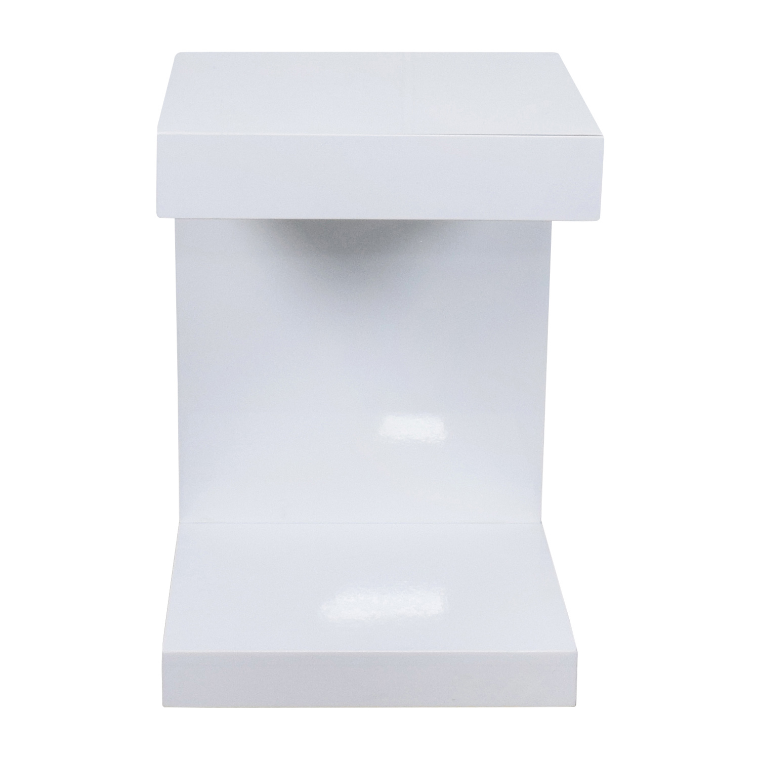 Sunpan AllModern Sunpan Modern Home White Lacquer Ikon Bachlor Side Table  Coupon ...