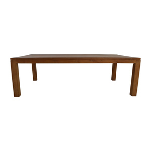 Crate and Barrel Wood Conference Table sale