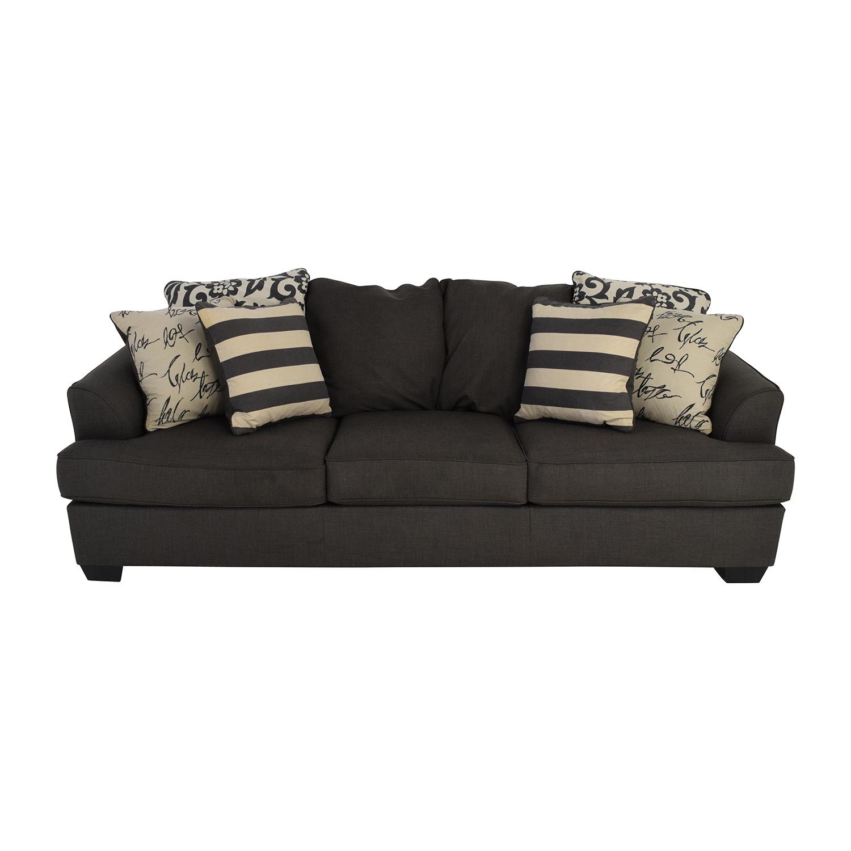 buy Ashley Furniture Ashley Furniture Gray Fabric Sofa online