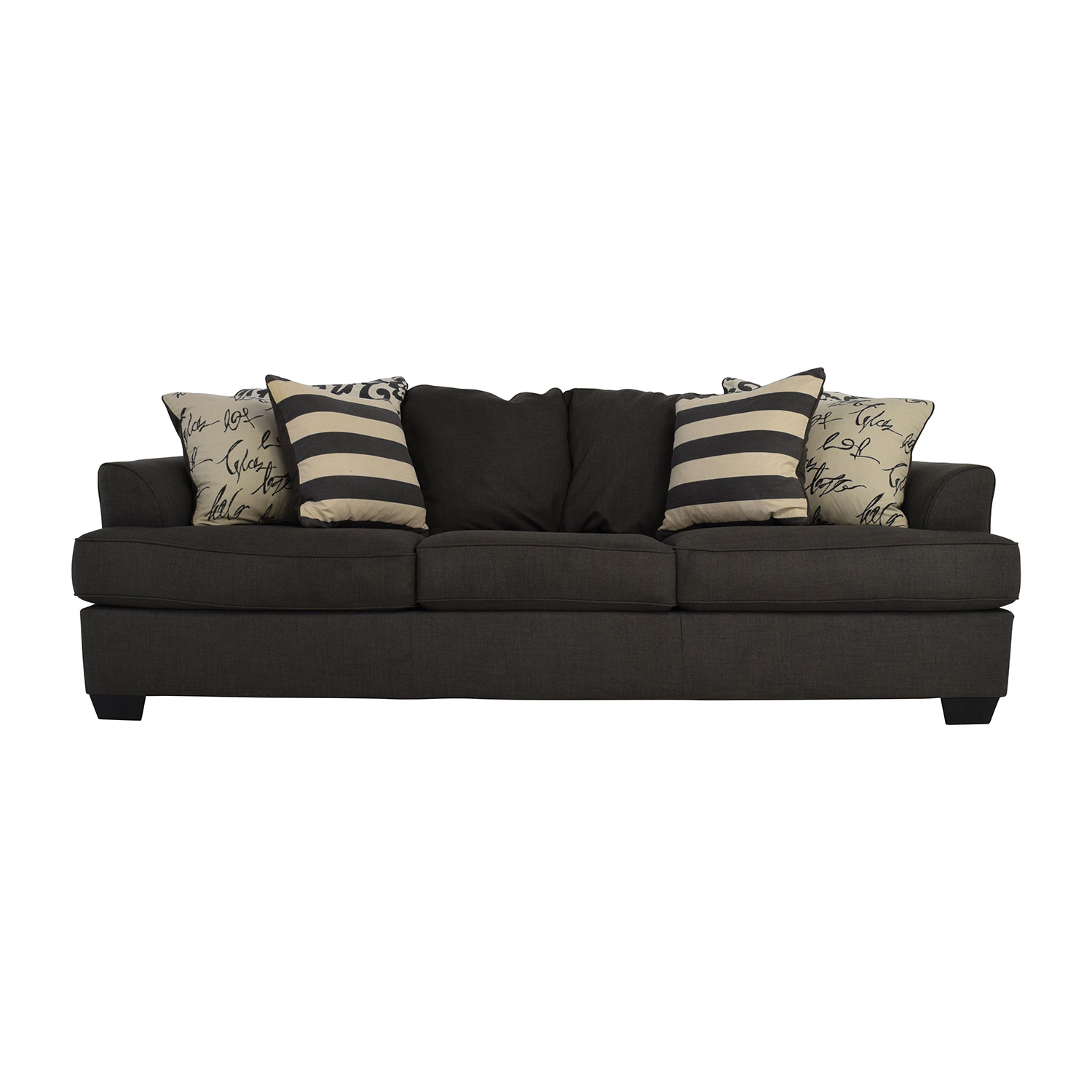 Attrayant Shop Ashley Furniture Gray Fabric Sofa Ashley Furniture ...