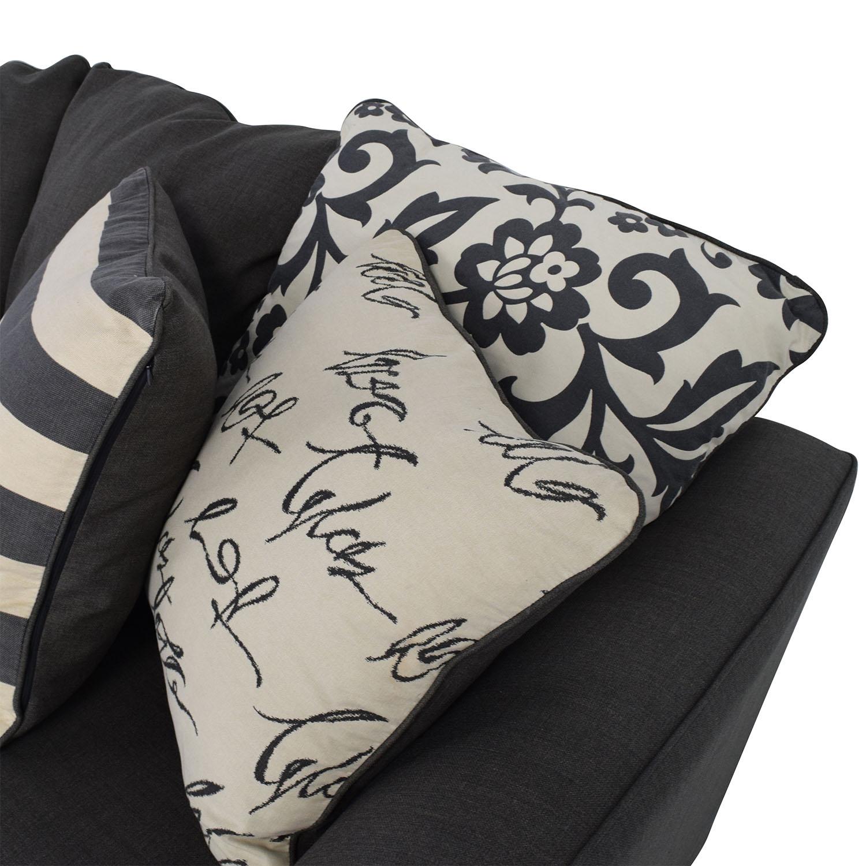 buy Ashley Furniture Gray Fabric Sofa Ashley Furniture Classic Sofas