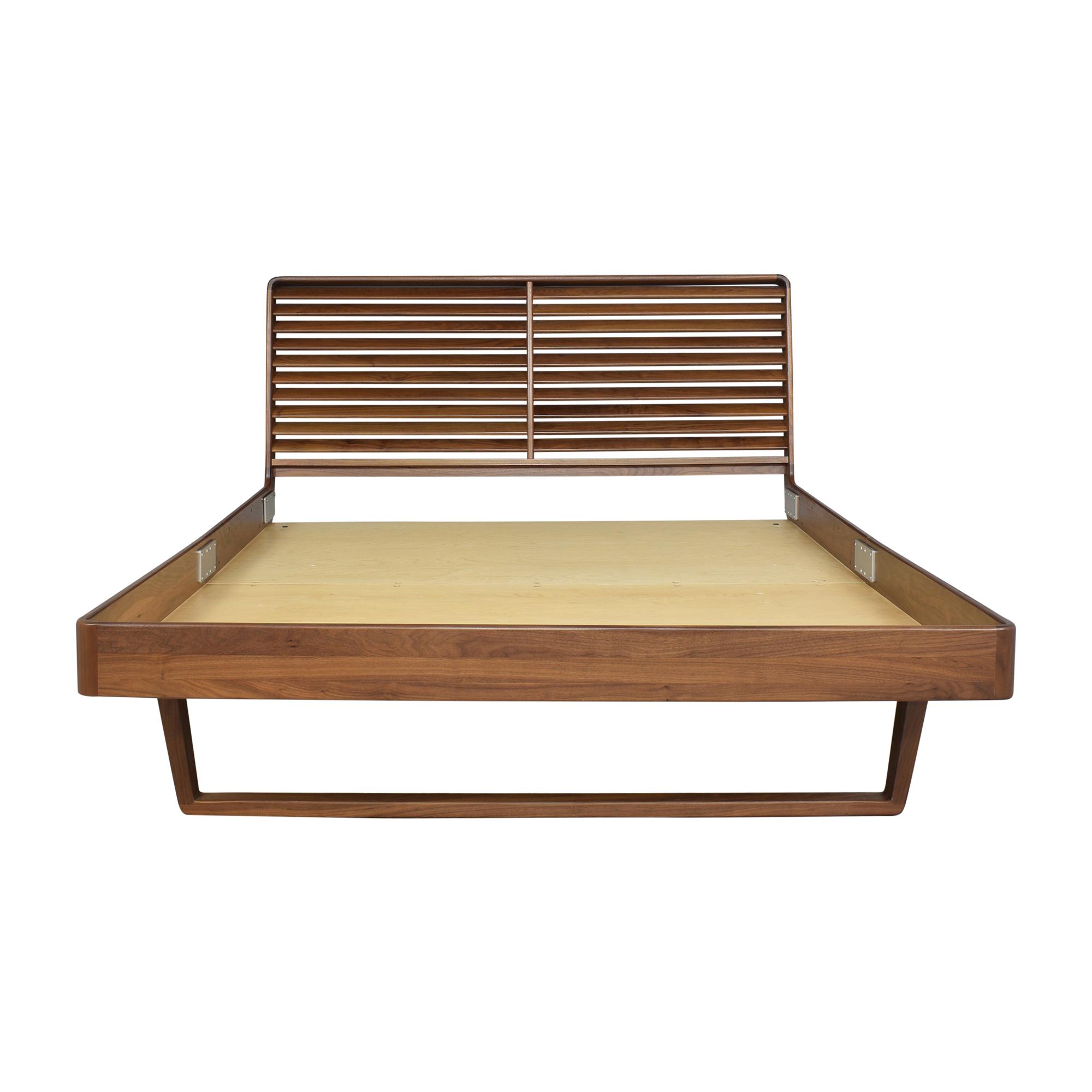 Copeland Furniture Copeland Furniture Queen Contour Platform Bed second hand