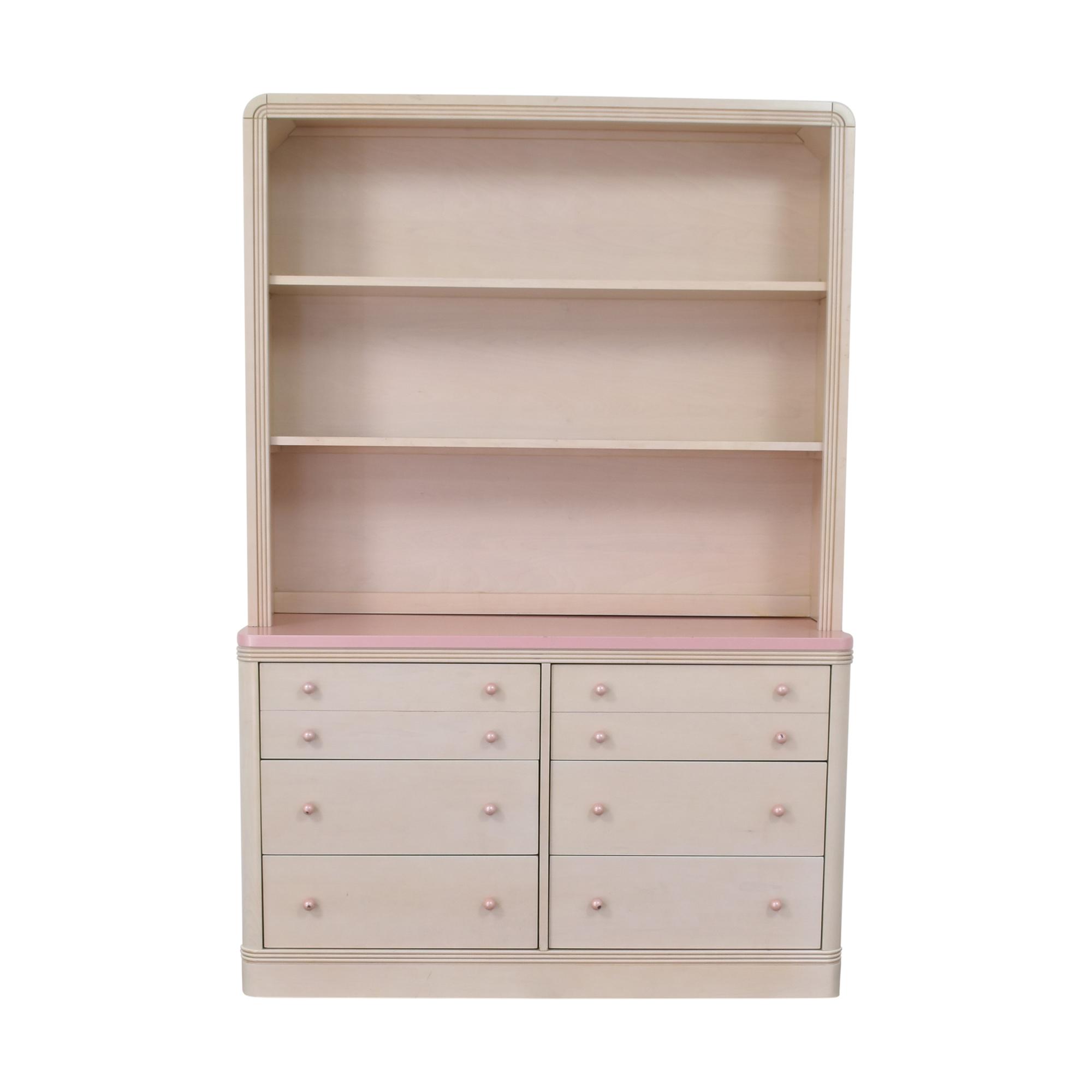 Ragazzi Ragazzi Six Drawer Dresser with Hutch nyc
