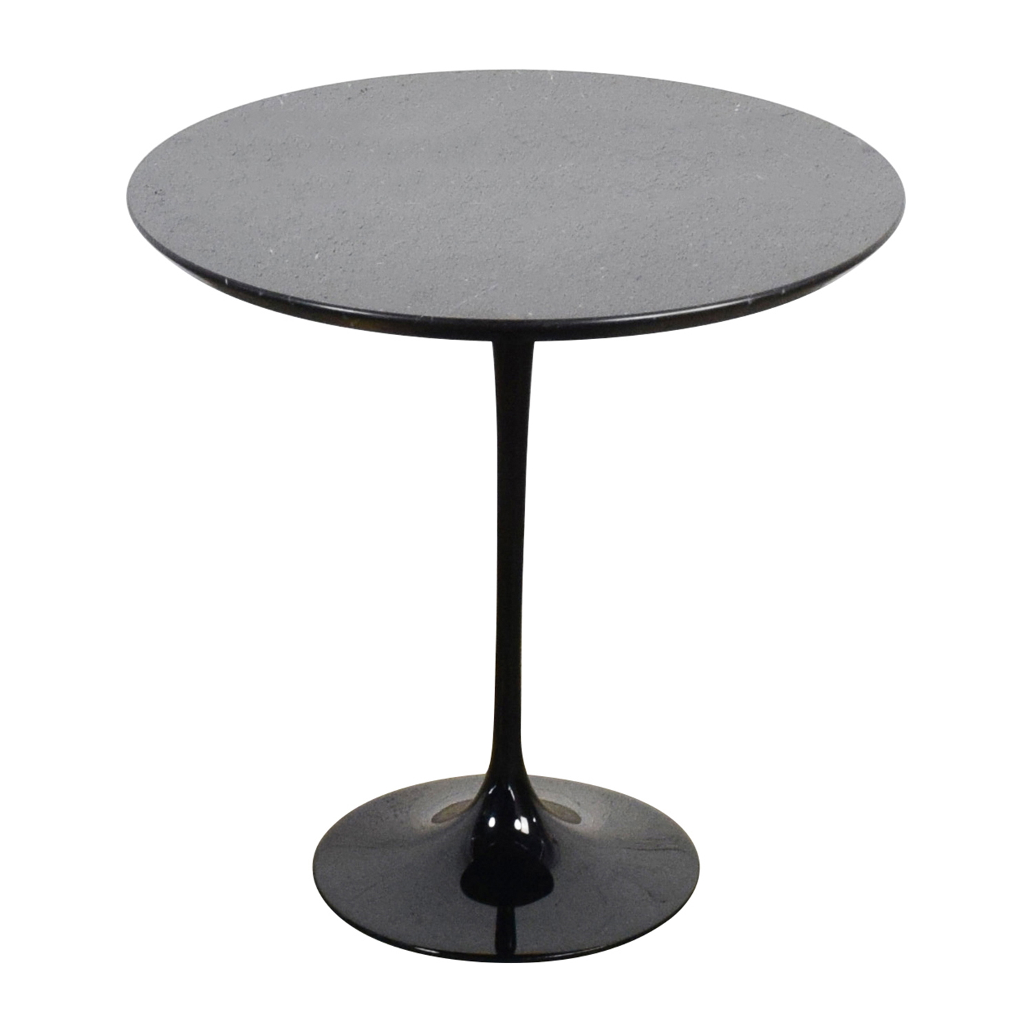 shop Saarinen Black Marble End Table Saarinen