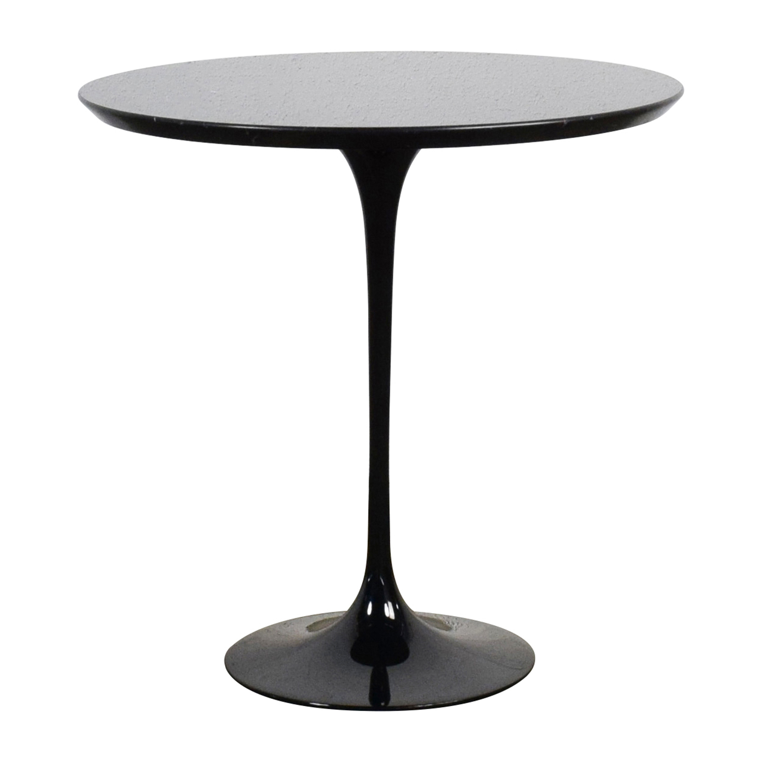 Saarinen Saarinen Black Marble End Table used