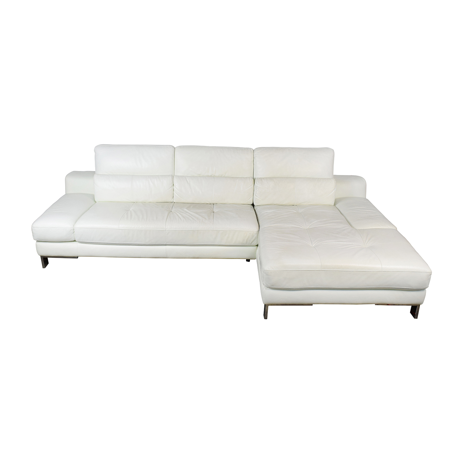 Mobilia Canada Mobilia Canada Funktion White Leather Sectional price