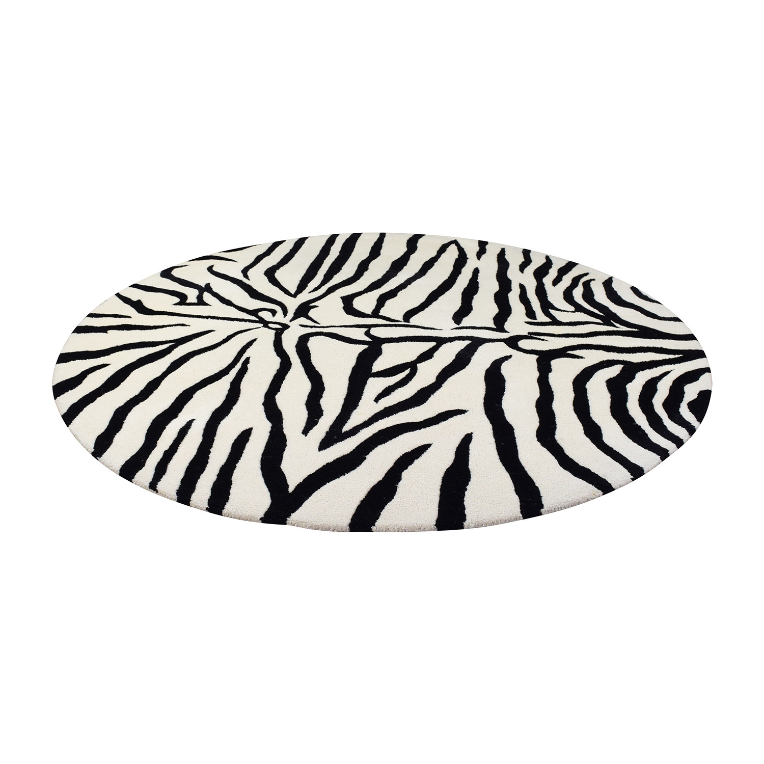 rug rugs carpets furniture vintage at skin century master id felt backing large area with zebra f taxidermy c