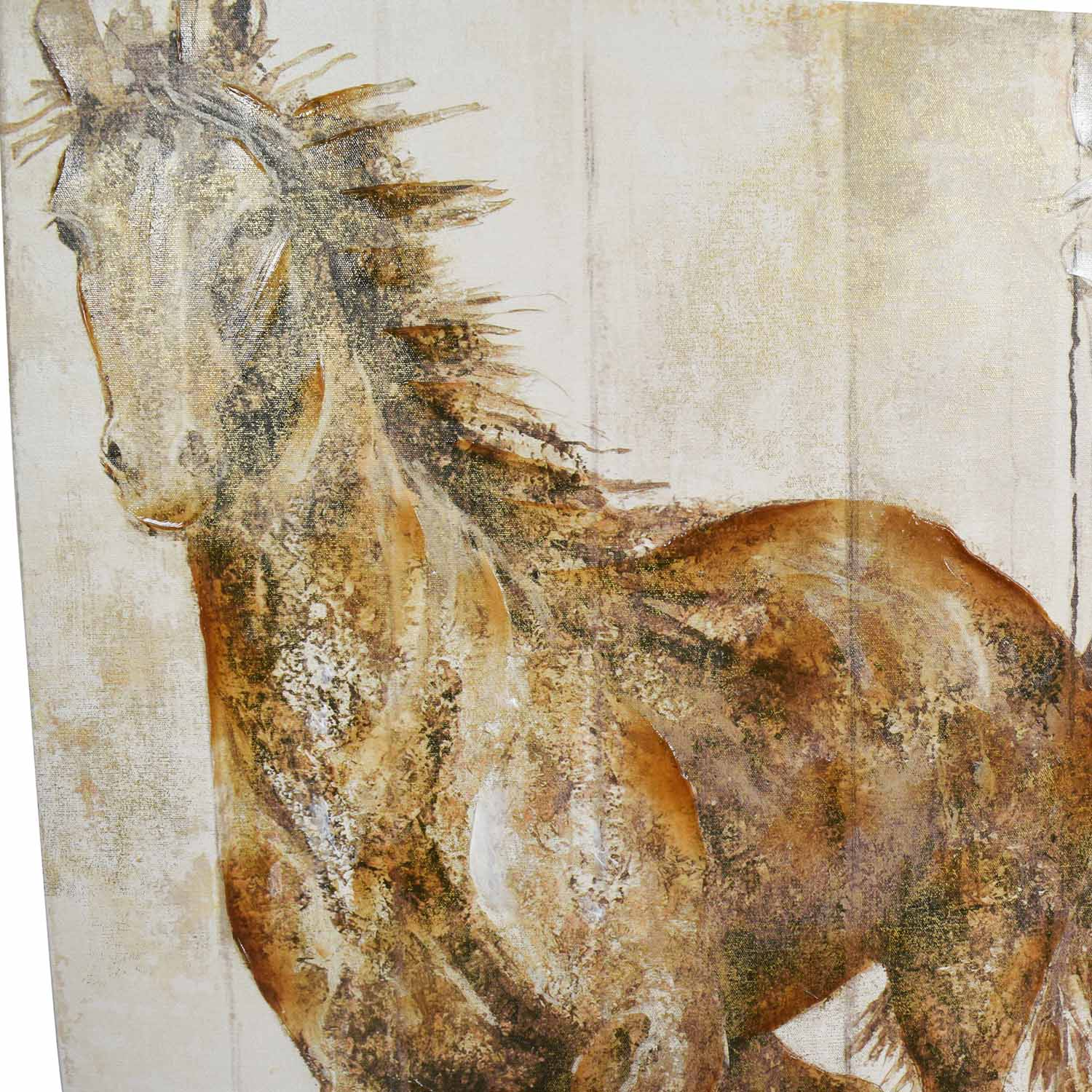 Canvas Horse Print used