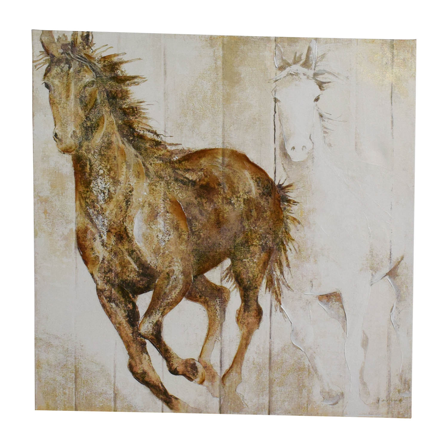 shop Canvas Horse Print Wall Art