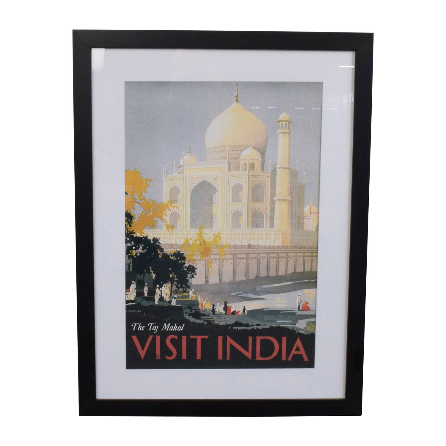 Getty Taj Mahal Visit to India Travel Print sale