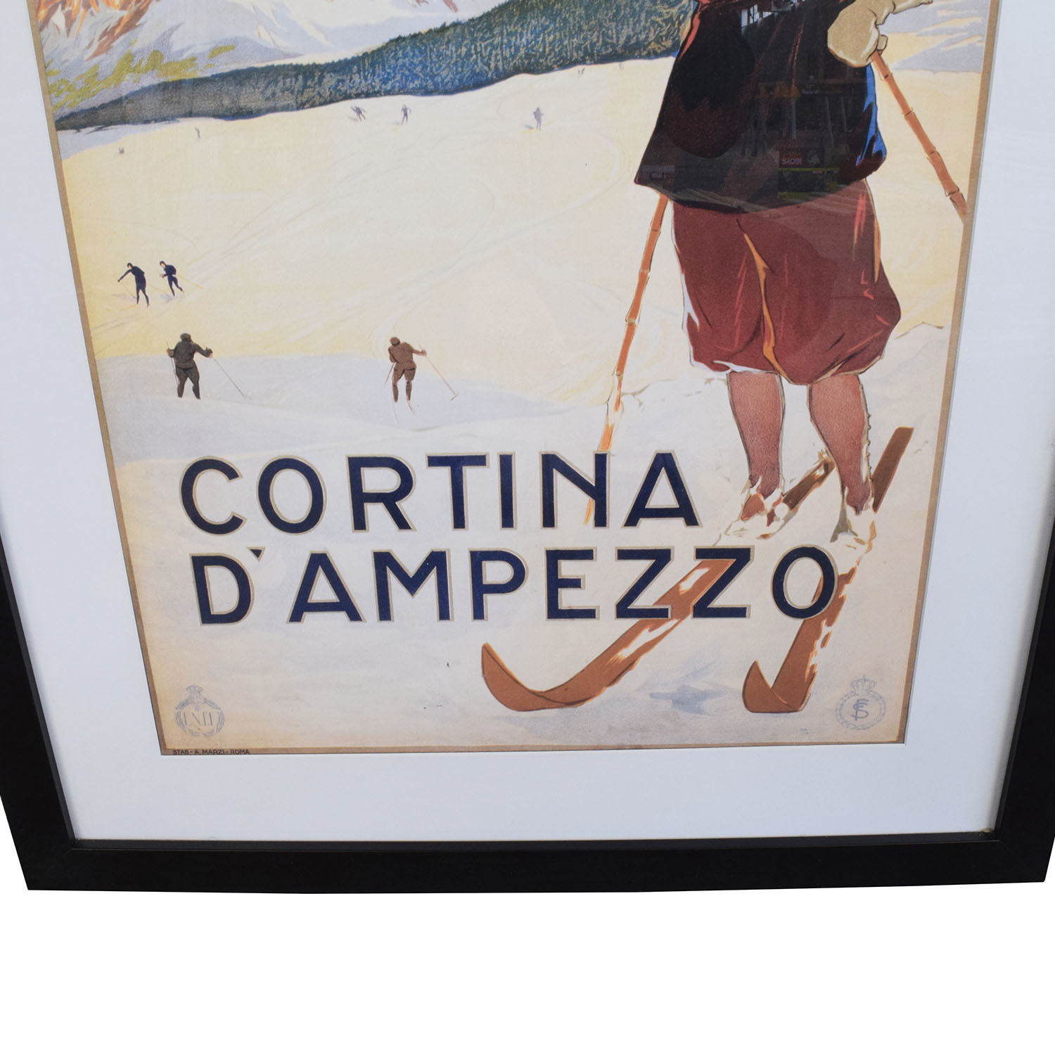 Getty Cortina DAmpezzo Framed Art Print nj