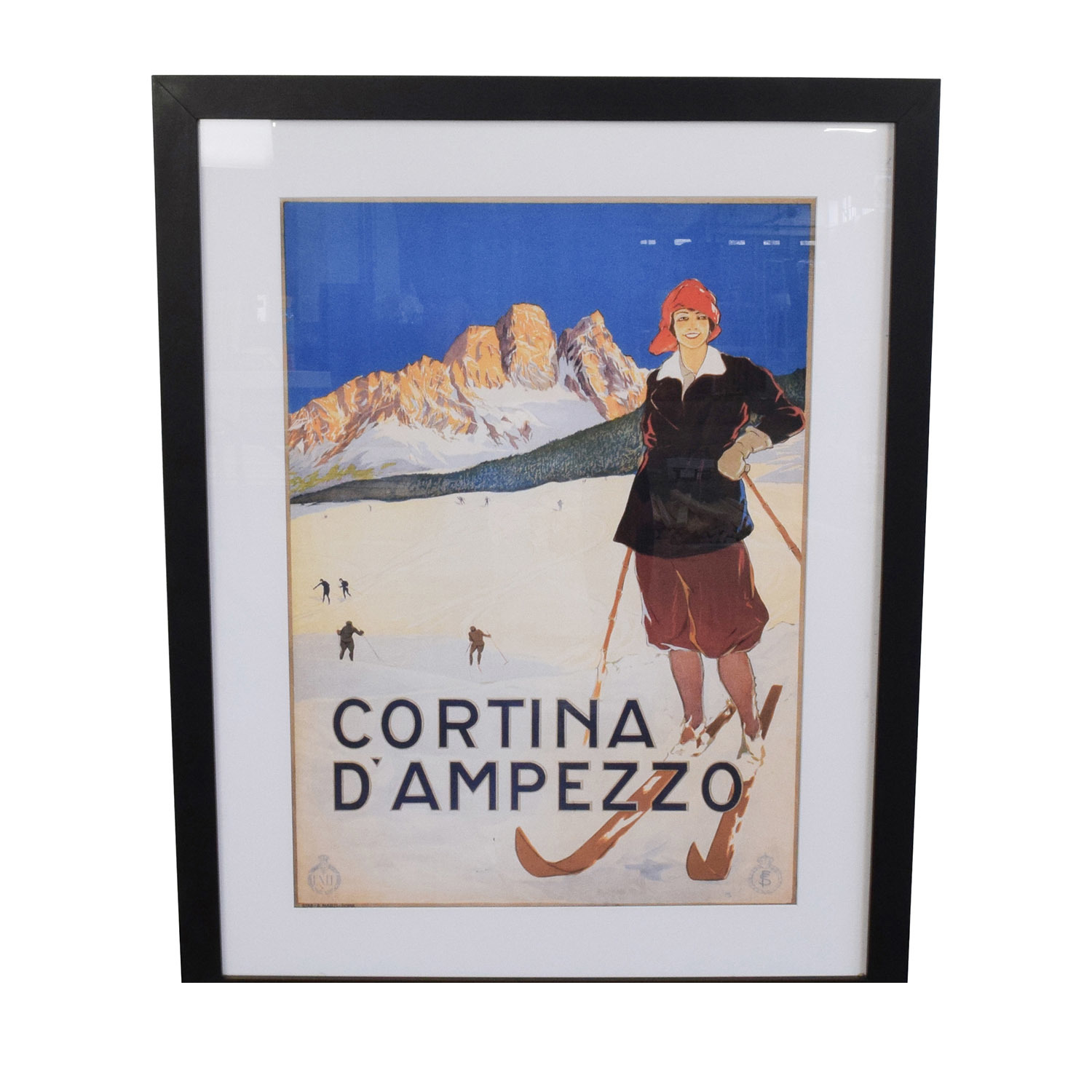 Getty Cortina DAmpezzo Framed Art Print Decor