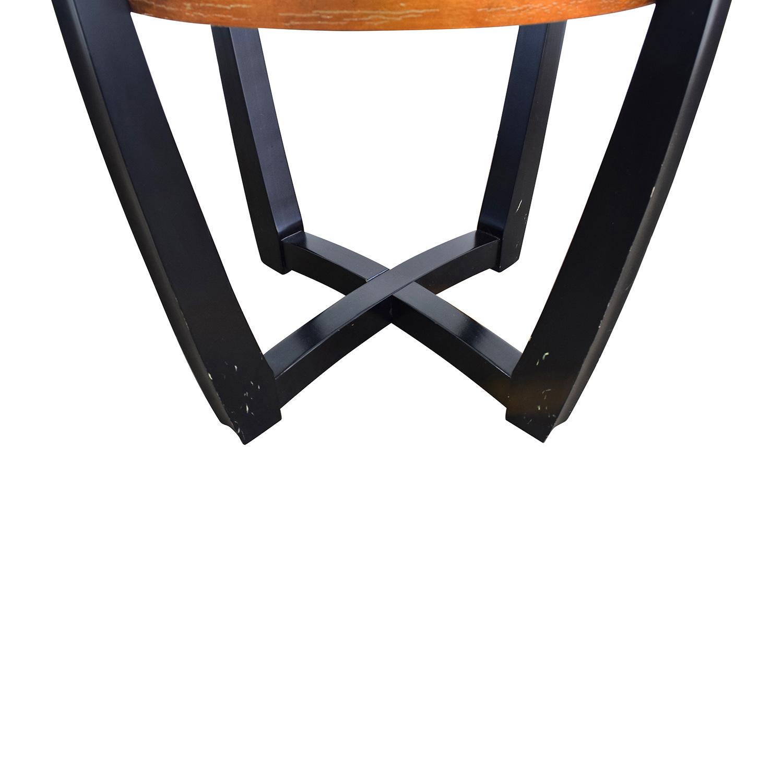 ... Buy Macyu0027s Macyu0027s Elation Round Glass Dining Table Online