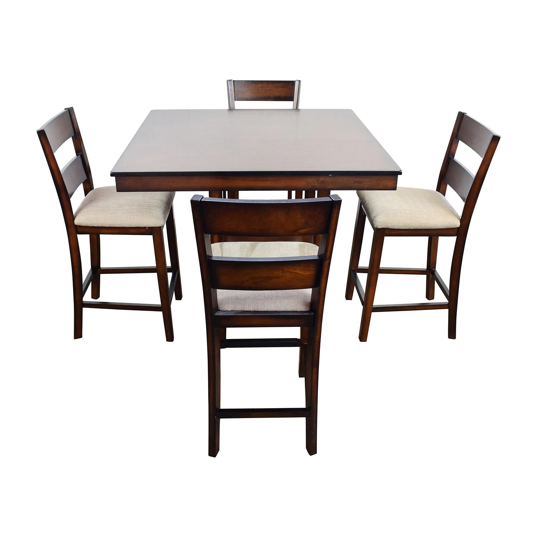 ... Macys Macys Branton 5 Pc. Counter Height Dining Set Used ...