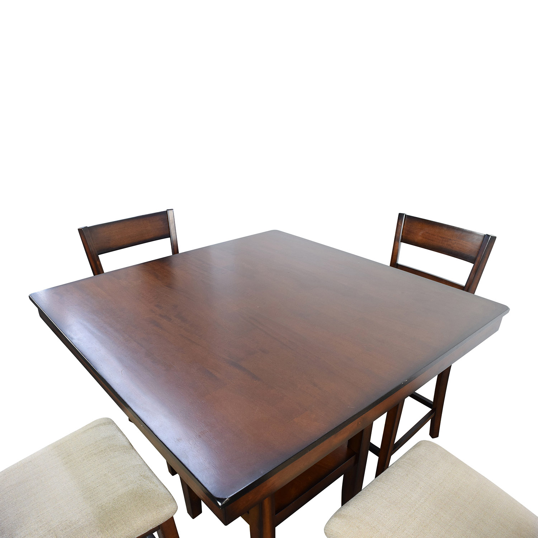 Fantastic 66 Off Macys Macys Branton 5 Pc Counter Height Dining Set Tables Home Interior And Landscaping Ologienasavecom