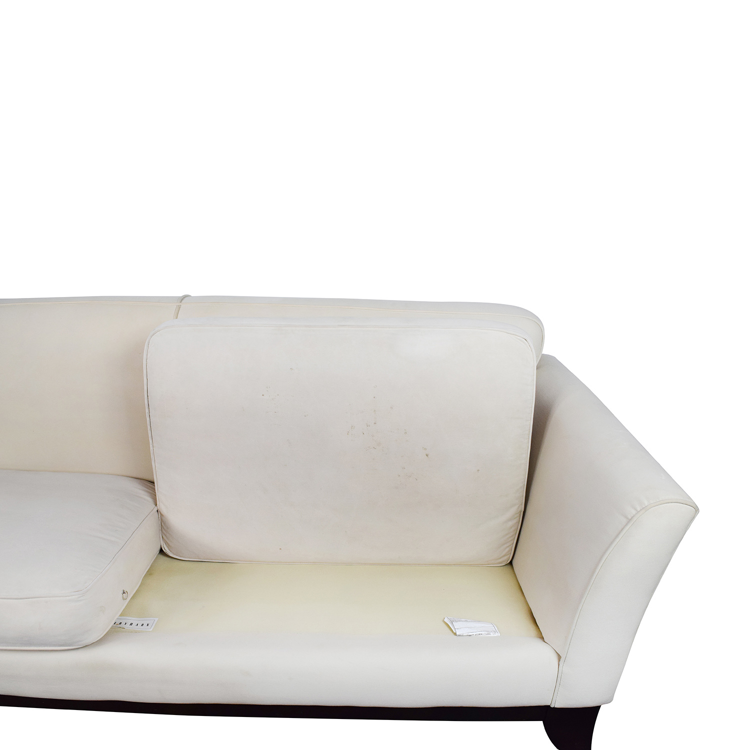 ... Used; Pottery Barn Pottery Barn Cream Couch Second Hand