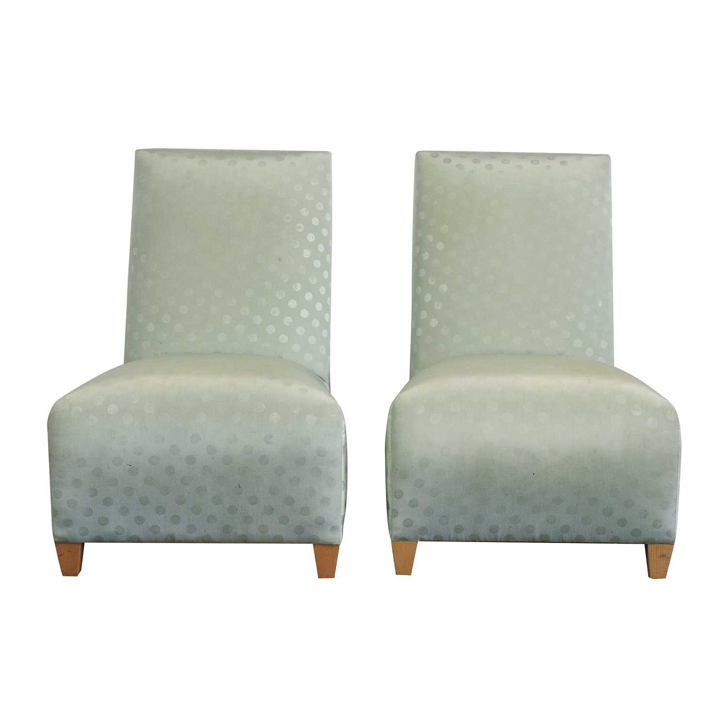 Donghia Donghia Light Green Chairs for sale