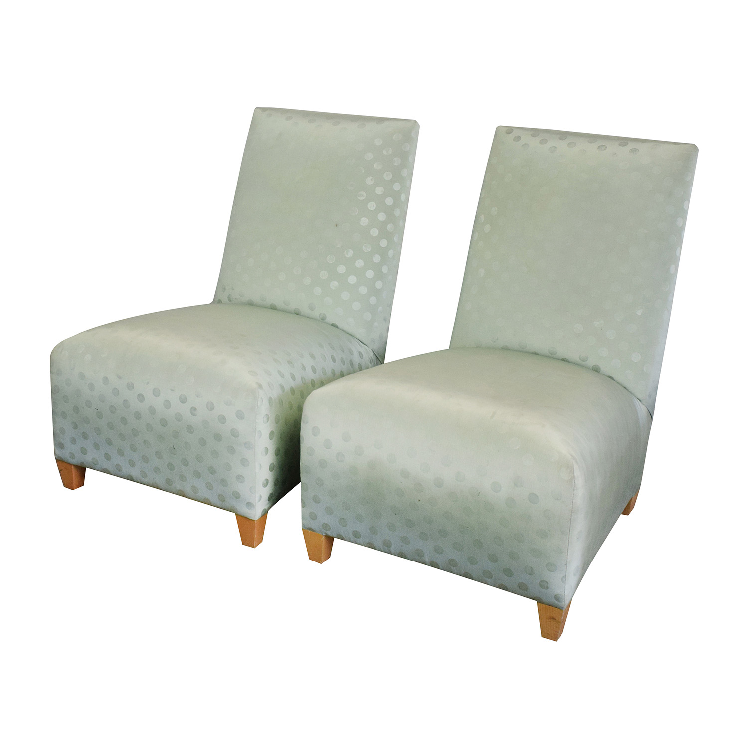90 off donghia donghia light green chairs chairs for Furniture 90 off