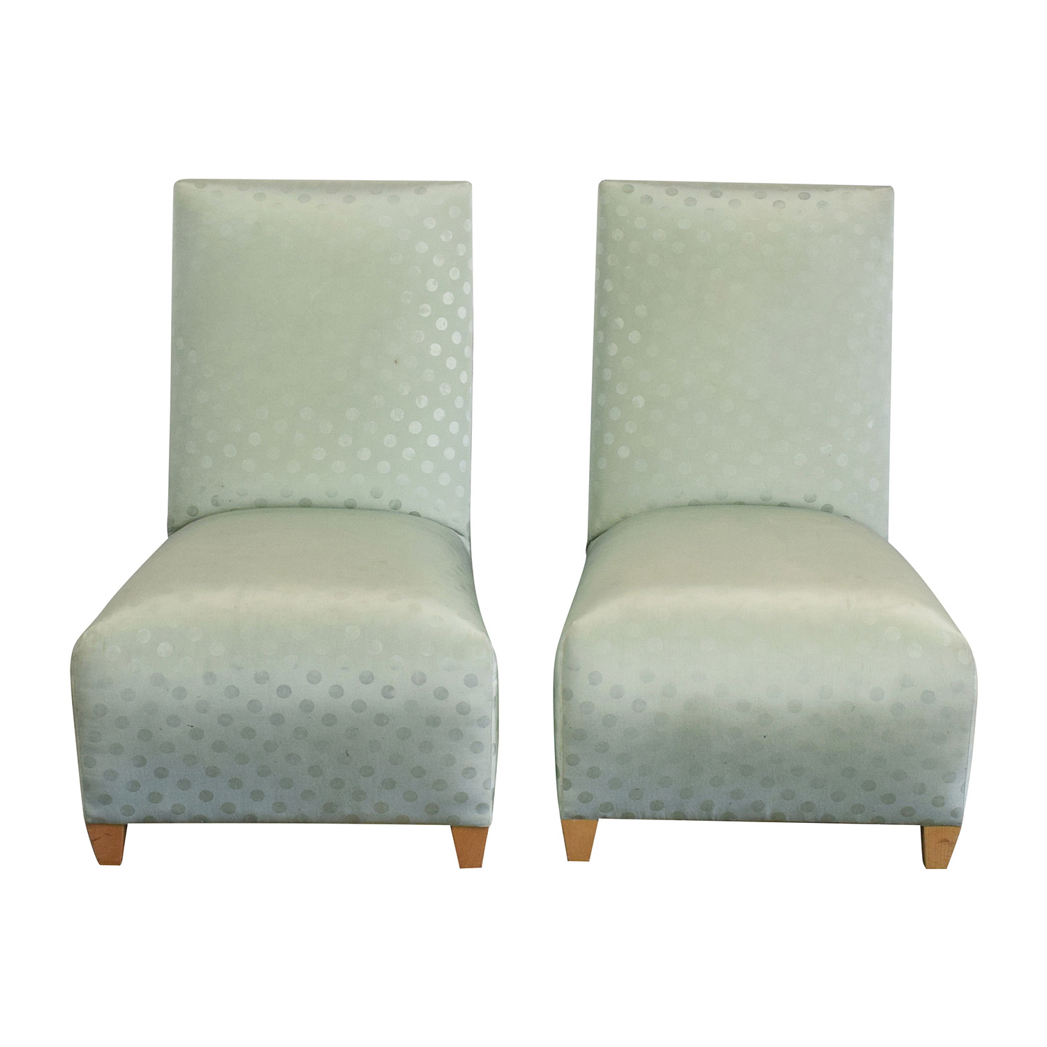 Donghia Donghia Light Green Chairs dimensions