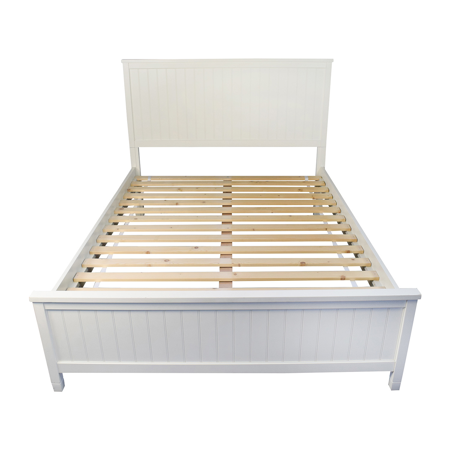 shop pottery barn wooden queen sized bed frame pottery barn bed frames - Used Bed Frames