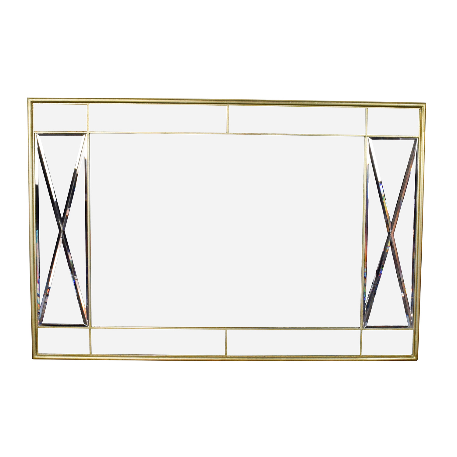 Macy's Macy's Ailey Gold Framed  Mirror coupon