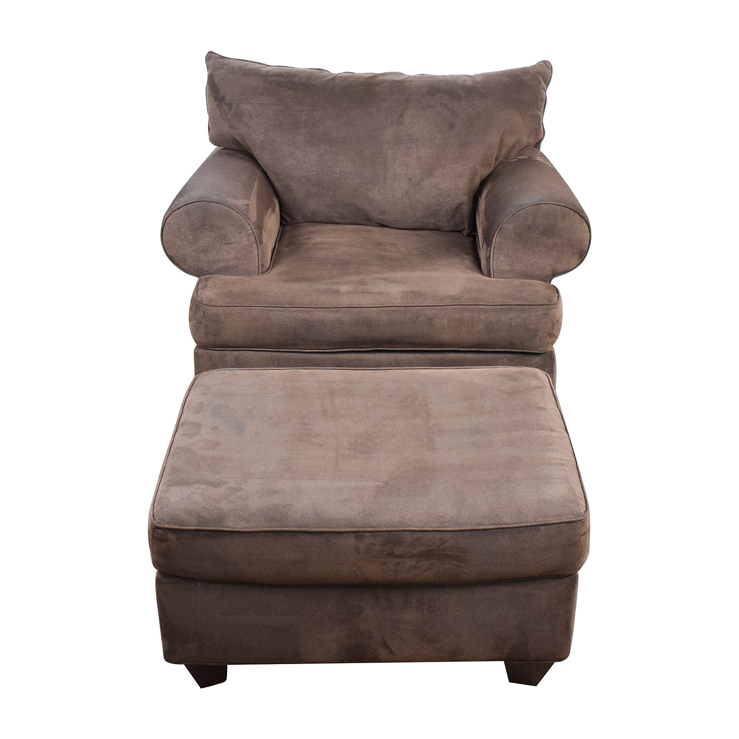 71% OFF Restoration Hardware Restoration Hardware Grey Chair and