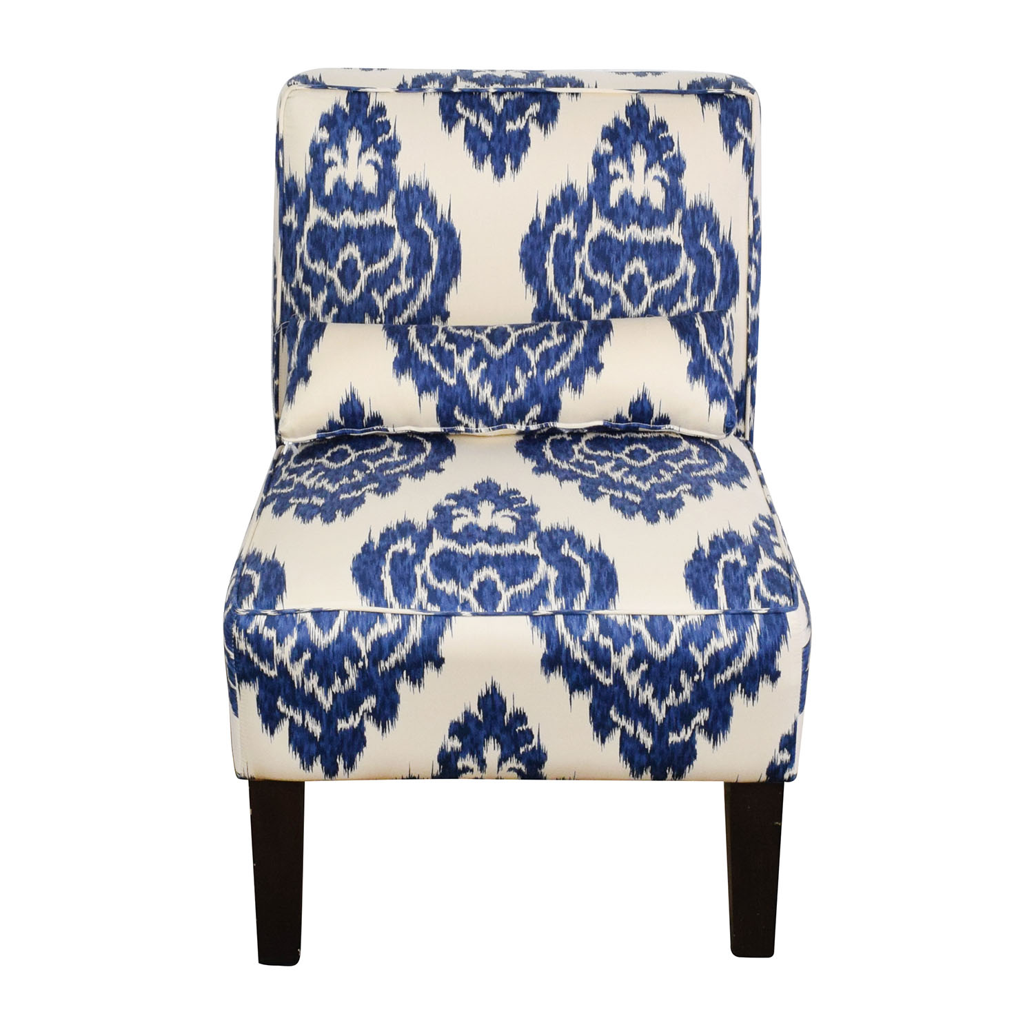 Marvelous 52 Off Overstock Overstock Blue And White Accent Chair Chairs Machost Co Dining Chair Design Ideas Machostcouk