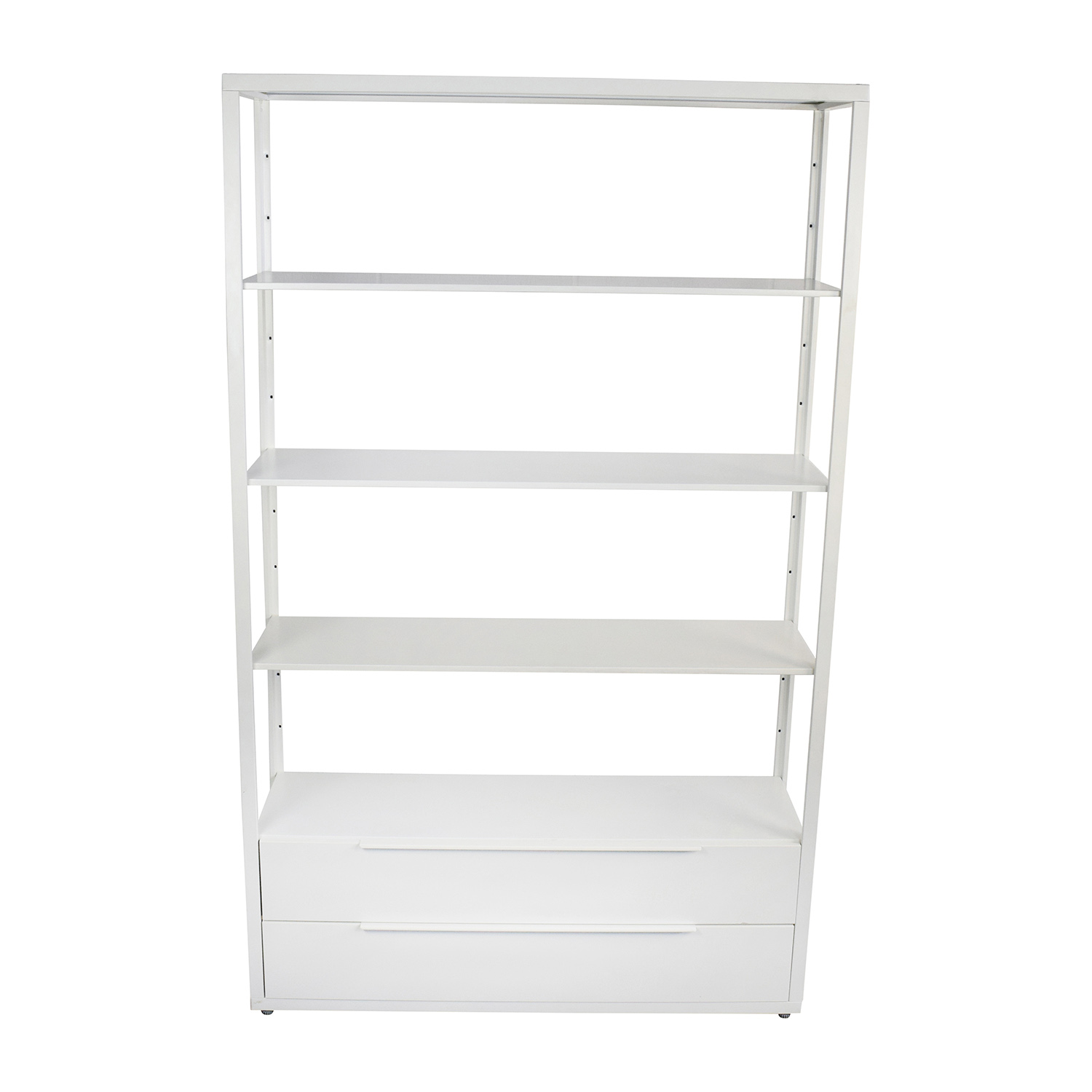 IKEA White Shelving Unit with Drawers / Bookcases & Shelving