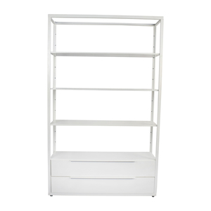 IKEA IKEA White Shelving Unit with Drawers nyc
