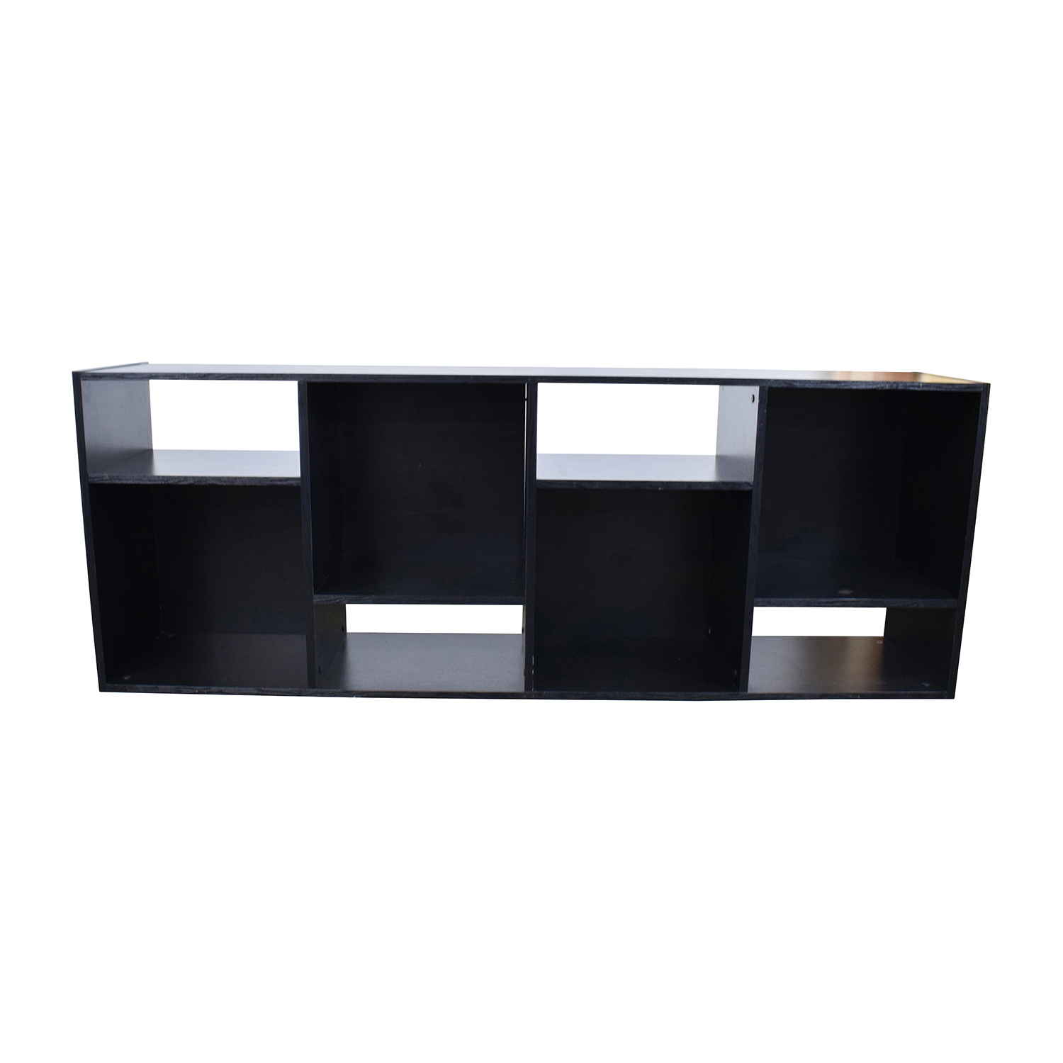 Crate And Barrel Black Shift Bookshelf Online