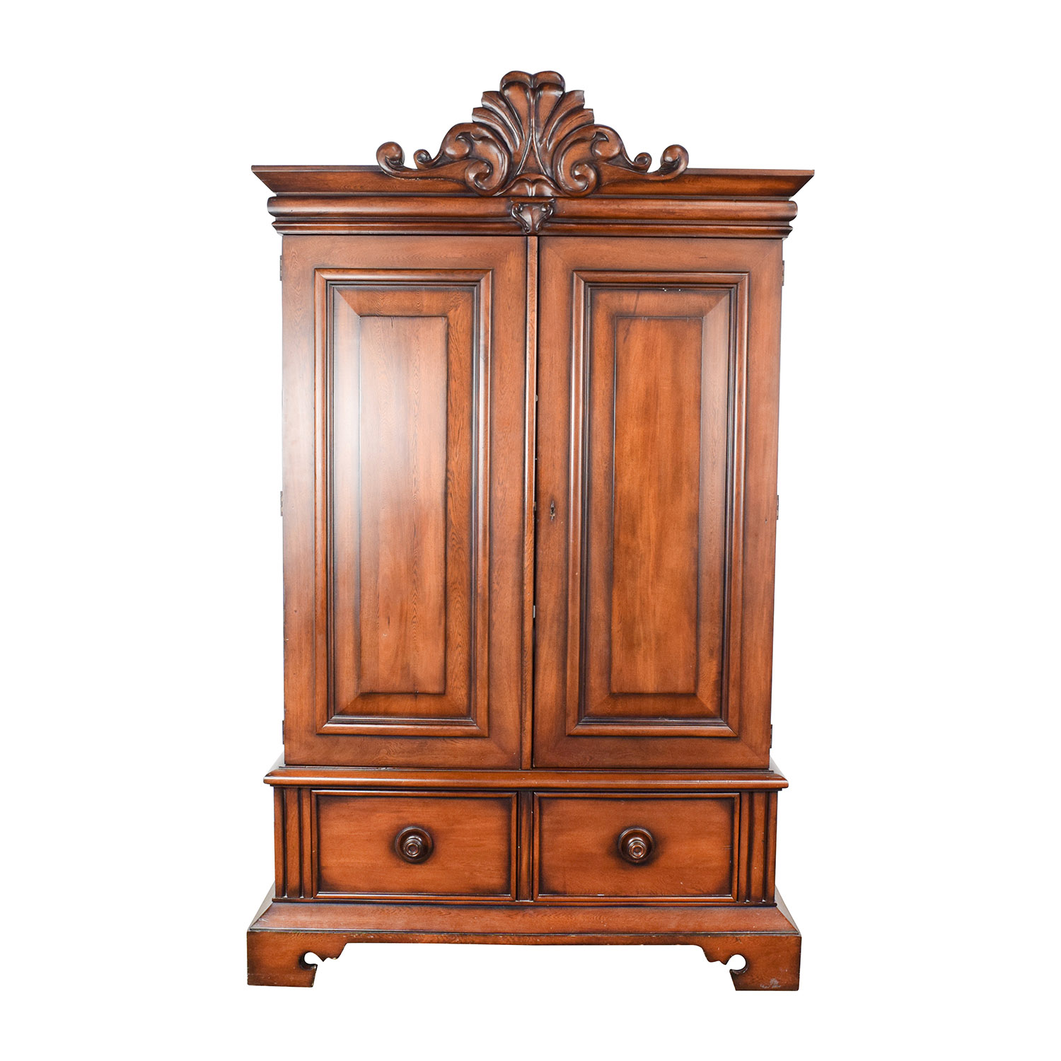 90 off ralph lauren ralph lauren mahogany armoire storage. Black Bedroom Furniture Sets. Home Design Ideas