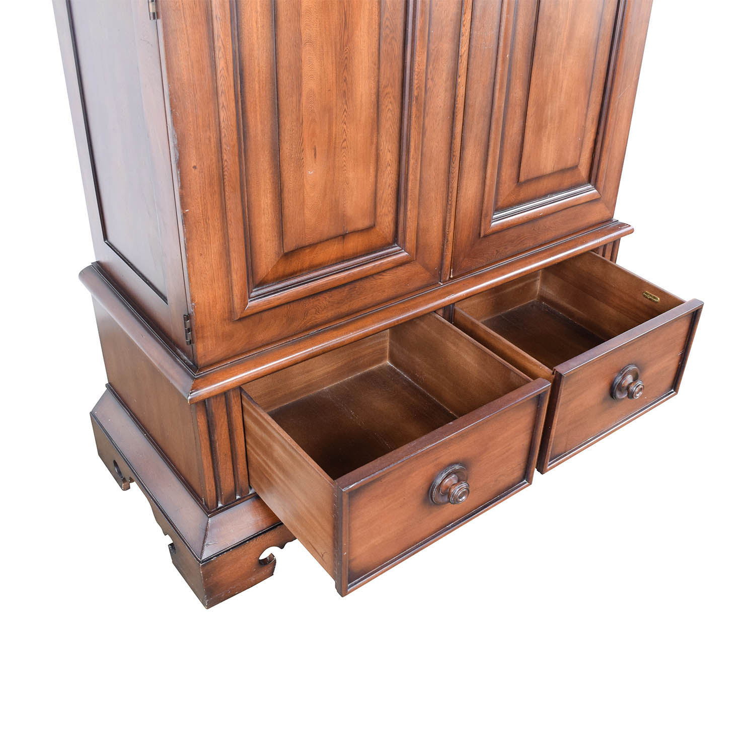 90 off ralph lauren ralph lauren mahogany armoire storage for Ralph lauren office furniture