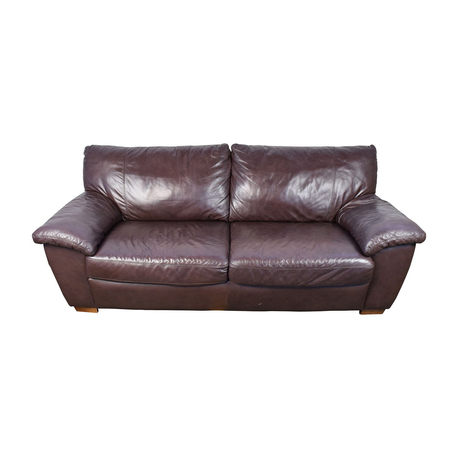 Espresso Leather Couch used
