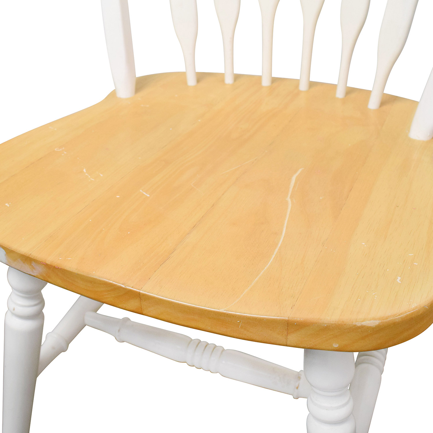 shop White and Natural Wood Color Dining set Tables