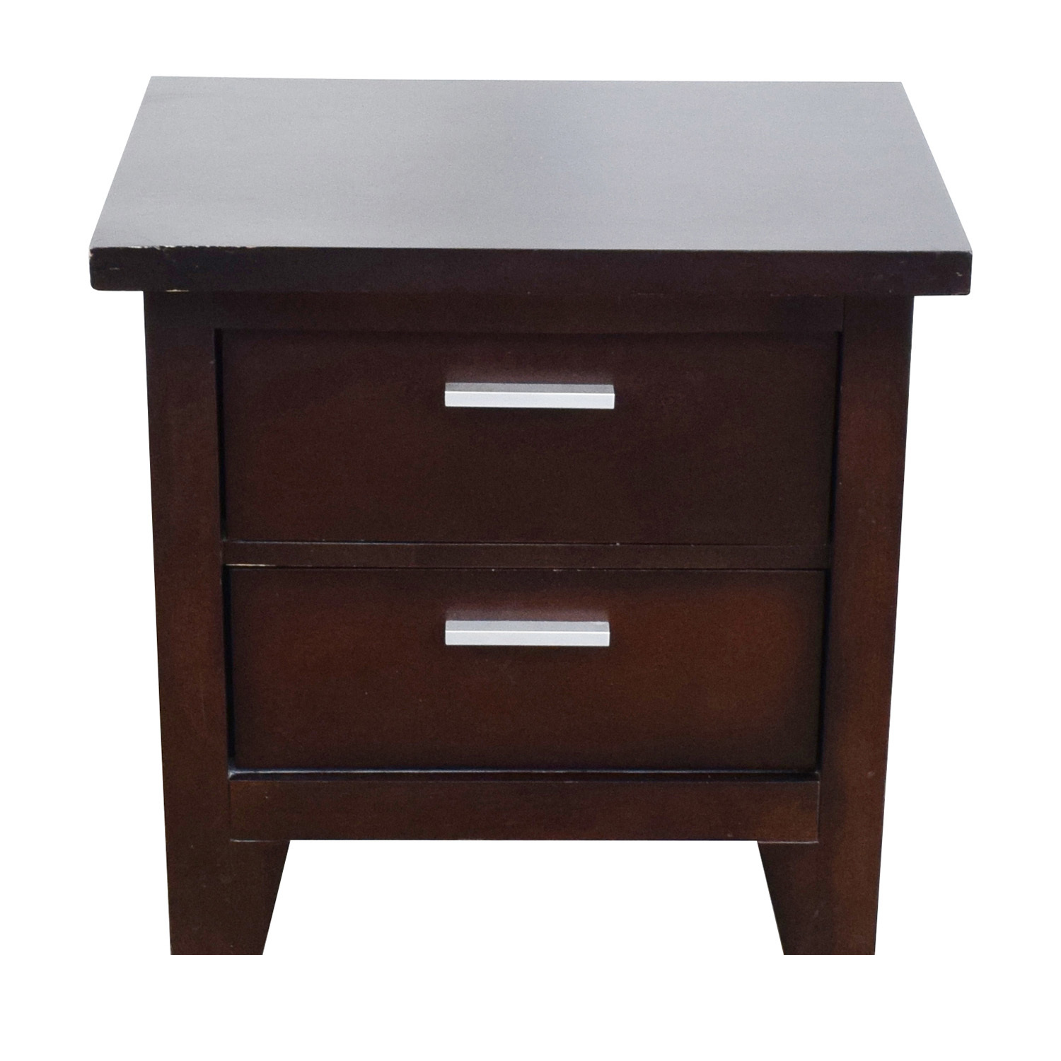 85 Off Ashley Furniture Ashley Furniture Two Drawer Nightstand Tables