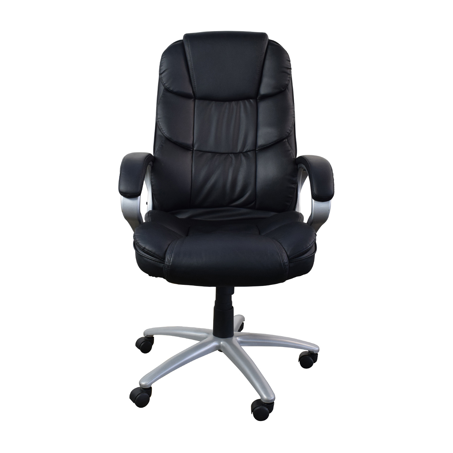 buy  Black Leather Executive Office Chair online