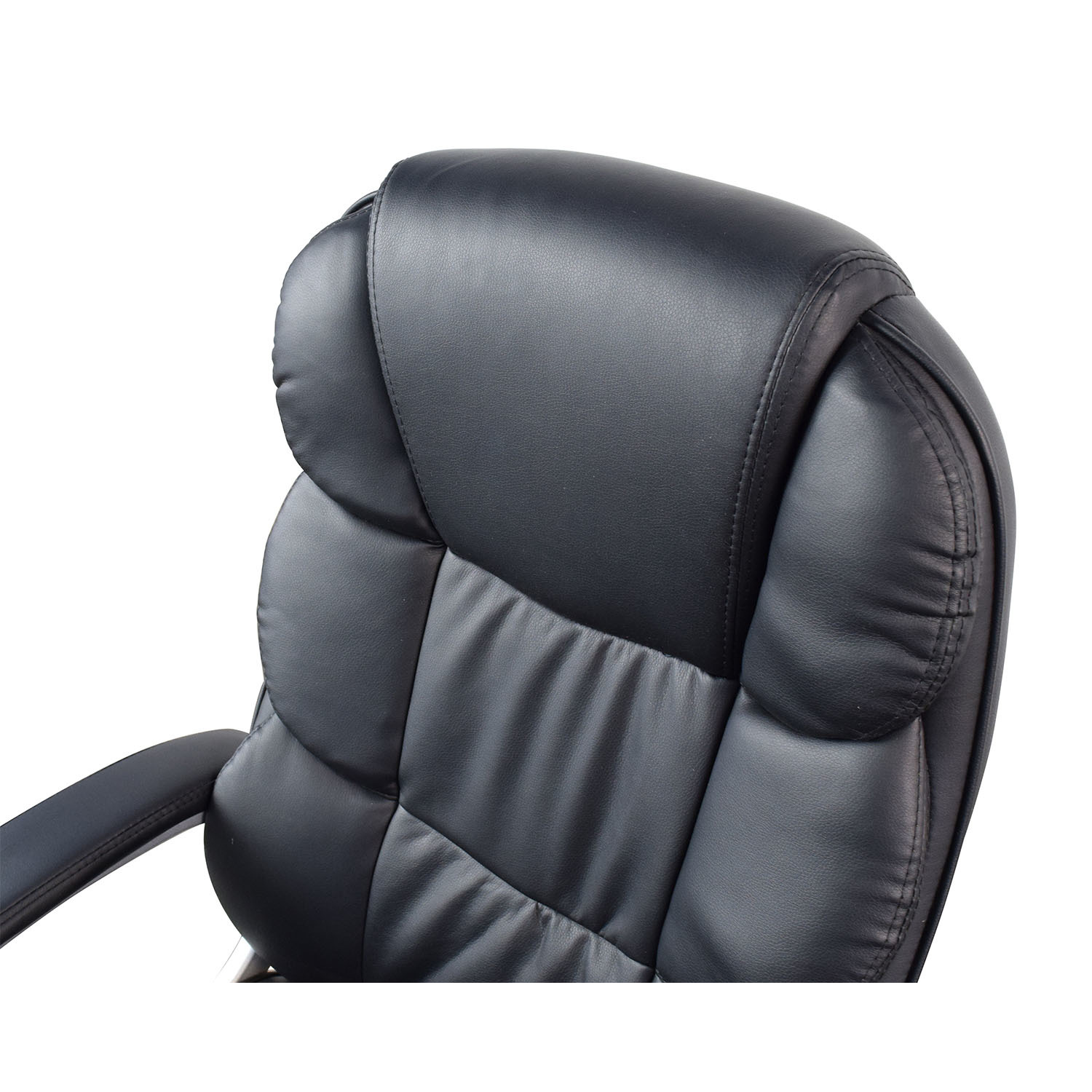 Black Leather Executive Office Chair dimensions