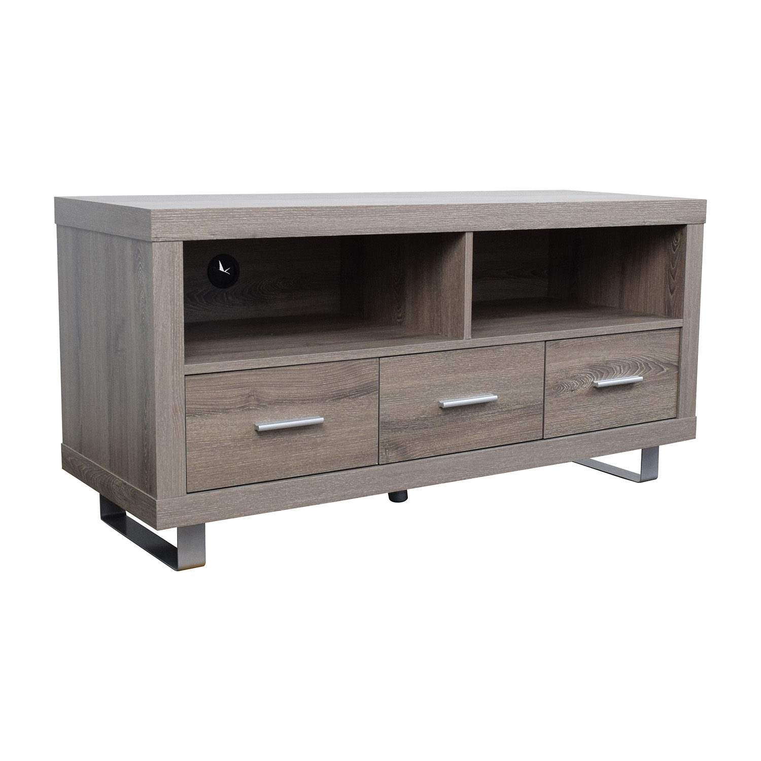 Monarch Specialties Inc. Monarch Specialties Light Brown TV Stand Media Units