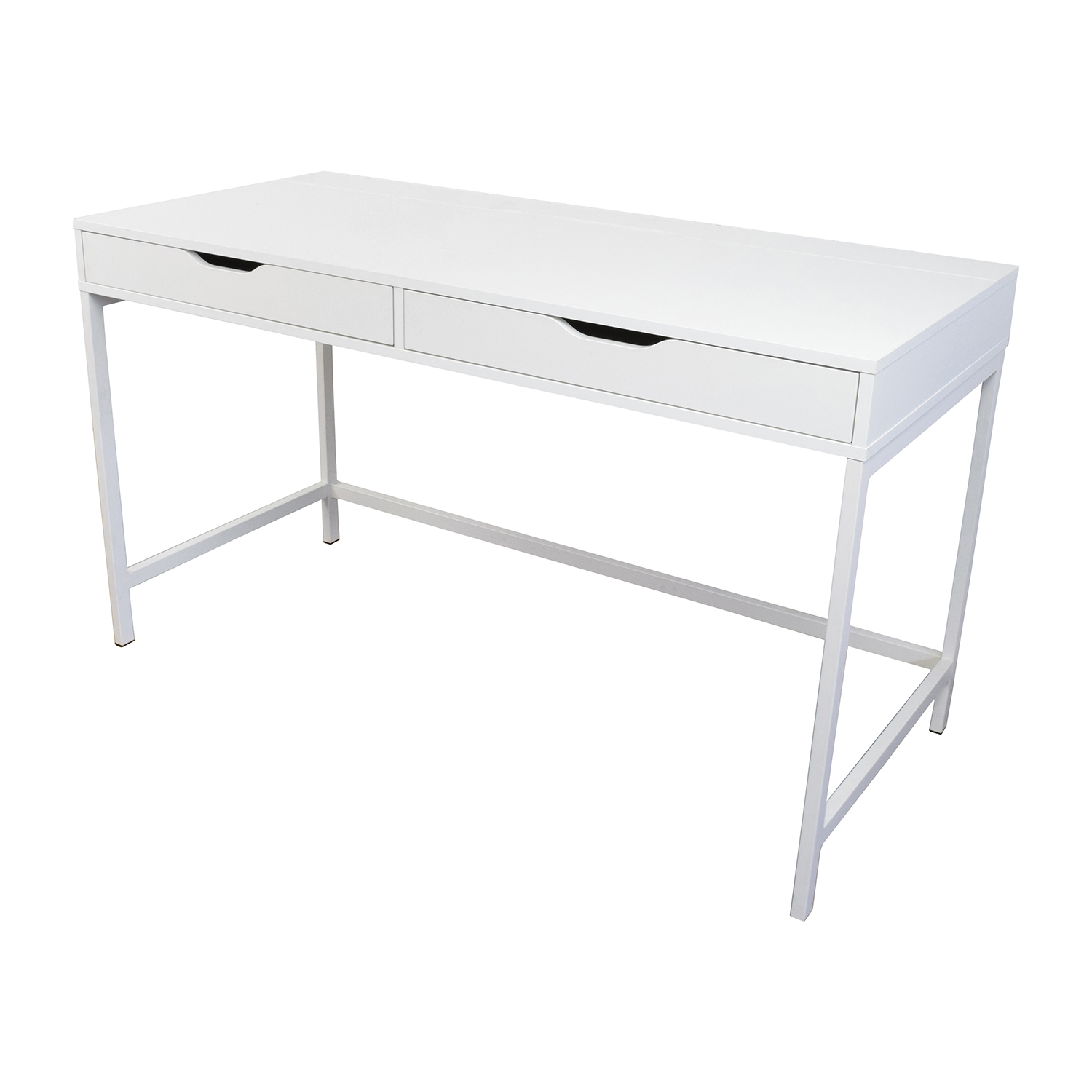 59  off ikea ikea alex white desk   tables