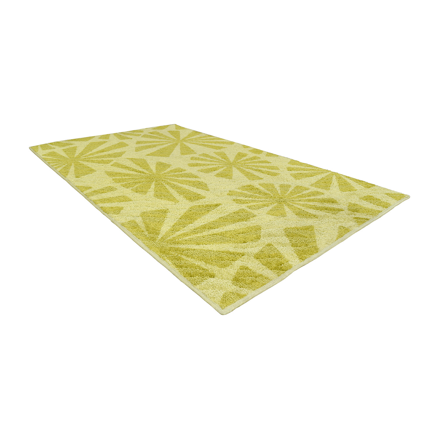 shop Angela Adams for Shaw Living Two-Toned Green Rug Shaw Living