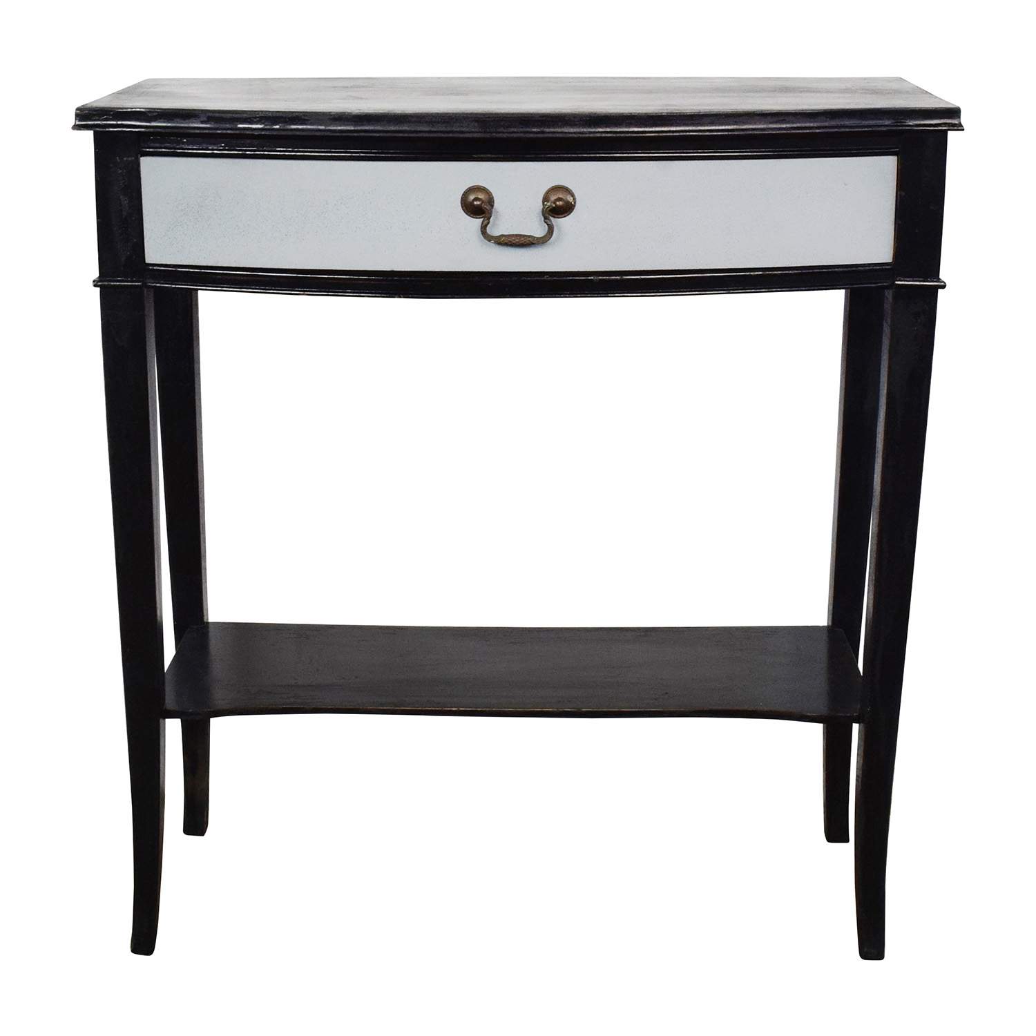 Etsy Etsy Vintage Black and Grey Console Table End Tables