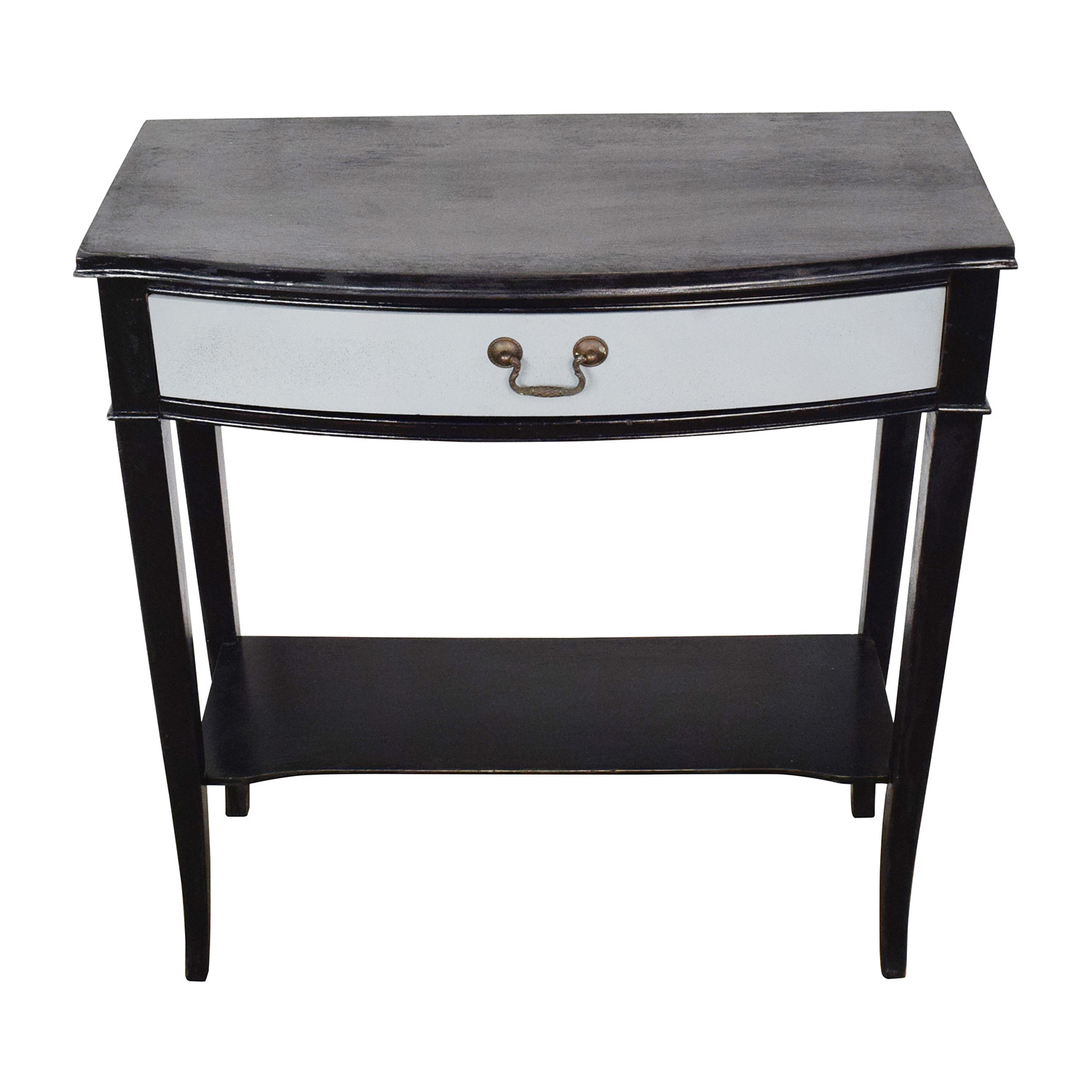 Etsy Etsy Vintage Black and Grey Console Table for sale