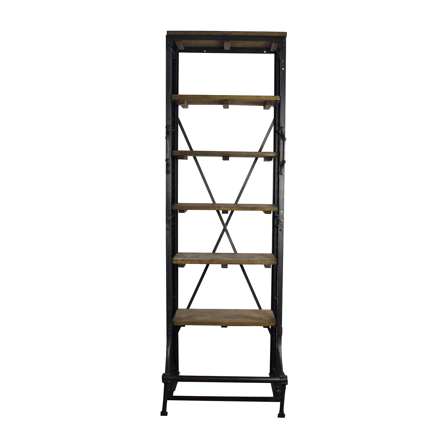 Restoration Hardware Restoration Hardware 20th Century French Library Shelving Storage