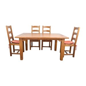 Crate & Barrel Crate & Barrel French Farm Dining Set nyc