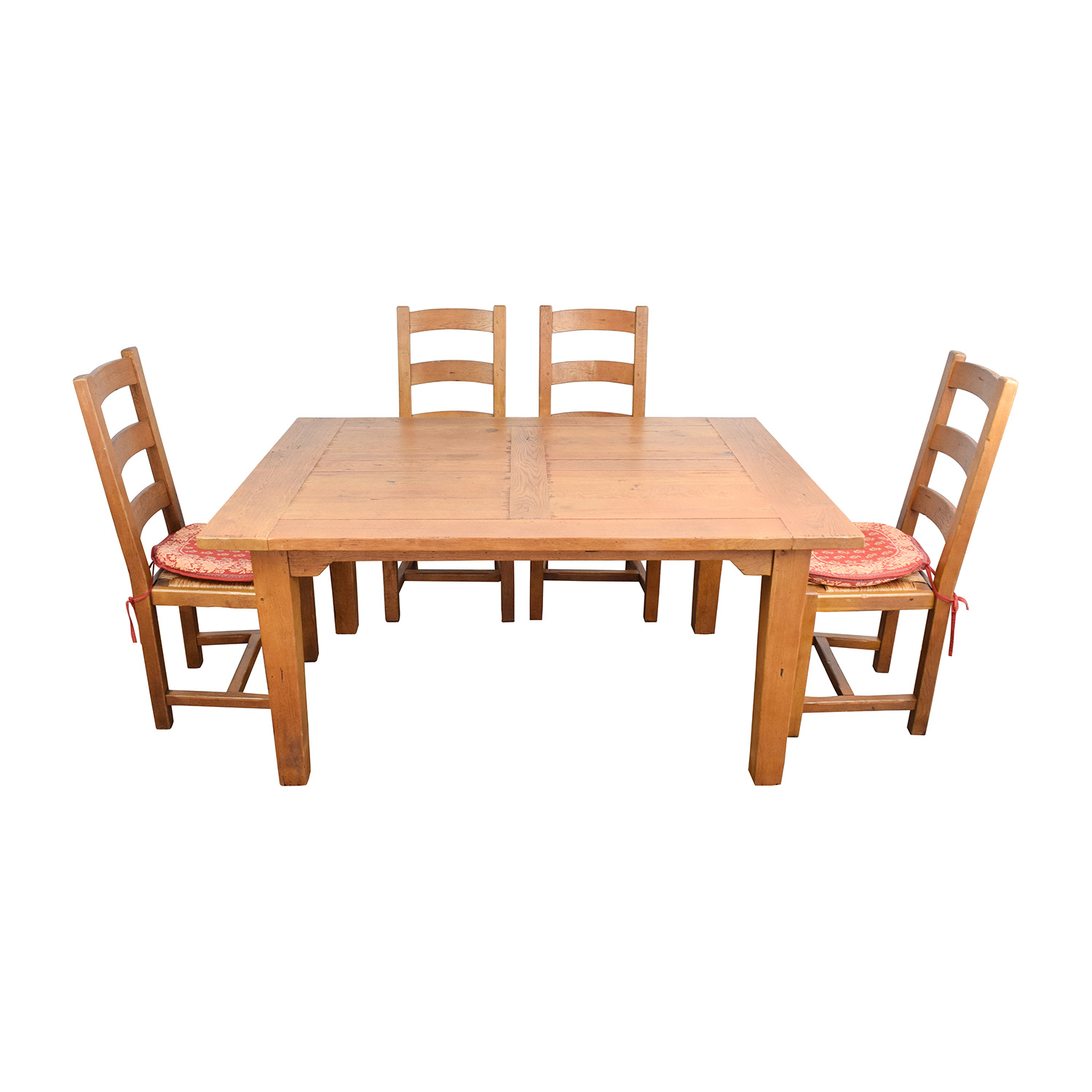 shop Crate & Barrel French Farm Dining Set Crate and Barrel Sofas