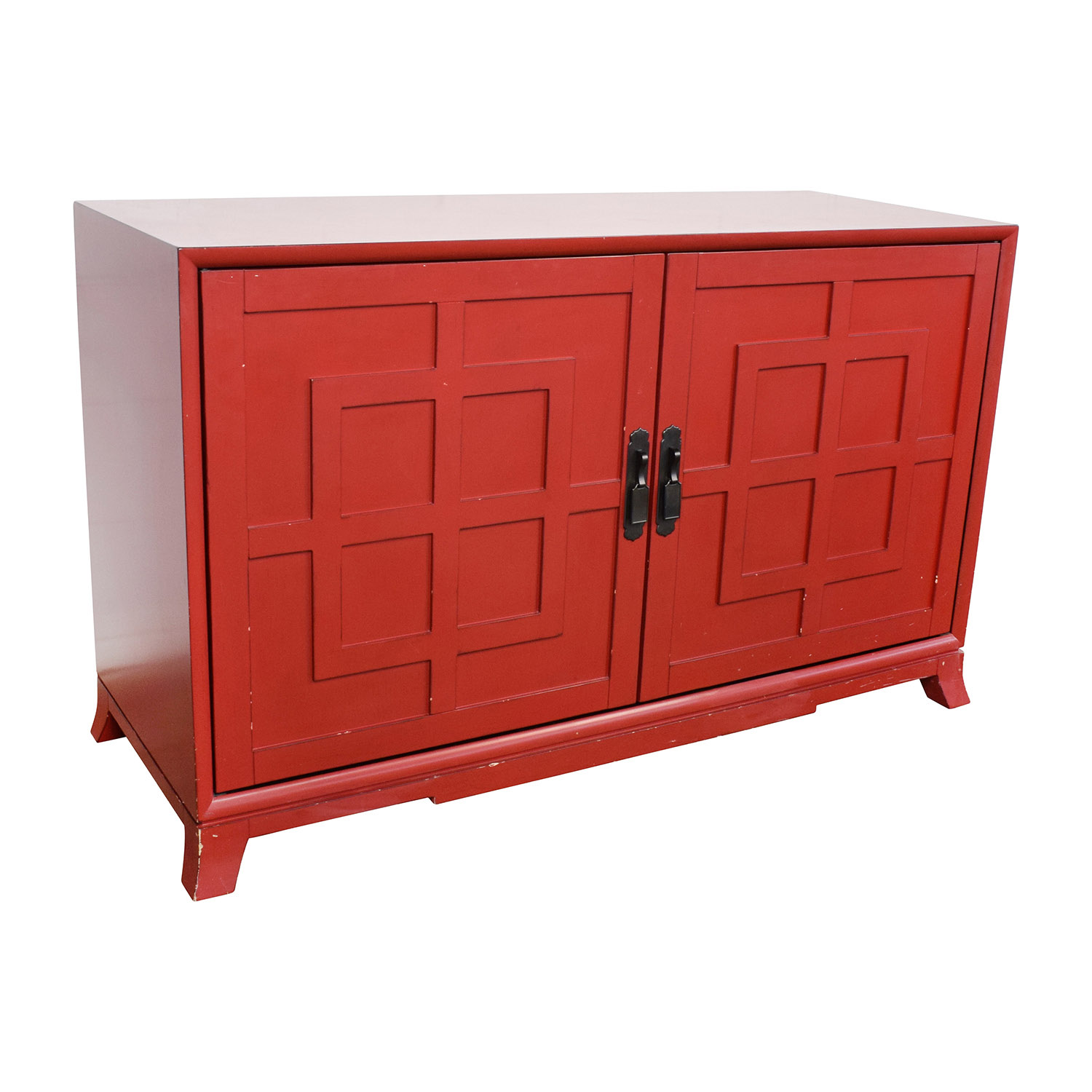 Crate and Barrel Crate & Barrel Red Media Storage Storage