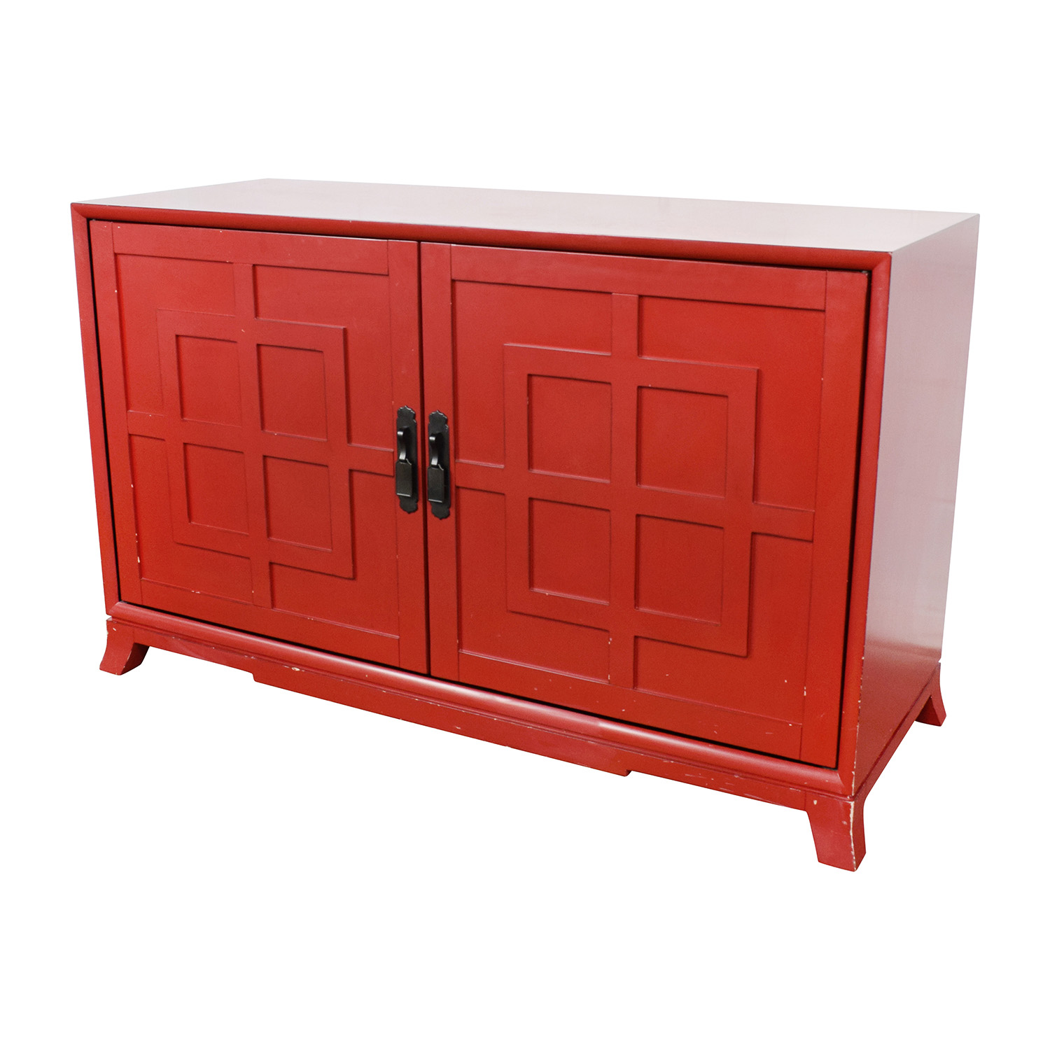 Crate and Barrel Crate & Barrel Red Media Storage price