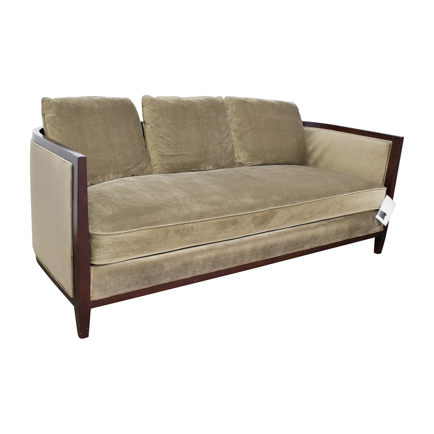 Single Cushion Sofa Single Cushion Loveseat Foter Thesofa