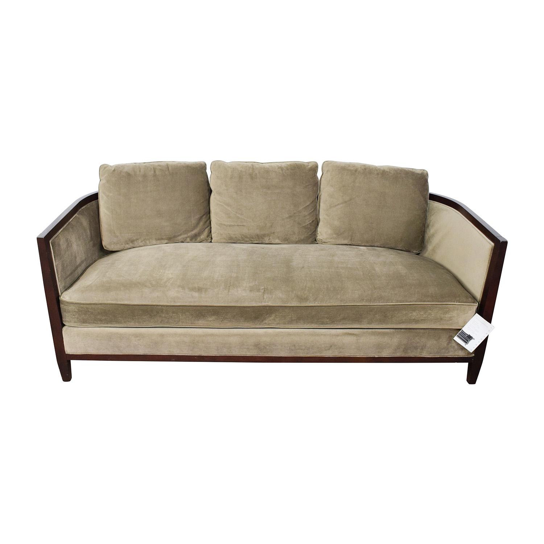 Remarkable 85 Off Bernhardt Bernhardt Tan Single Cushion Sofa Sofas Forskolin Free Trial Chair Design Images Forskolin Free Trialorg