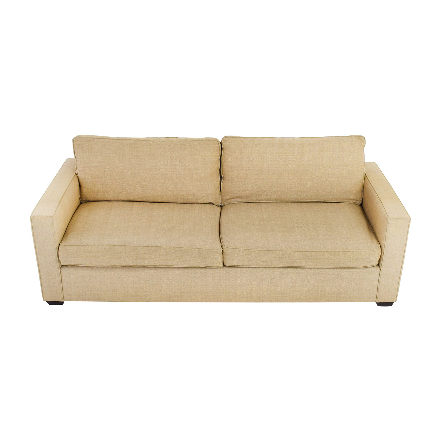 Room and Board Room & Board Beige Two Cushion Couch price